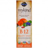 MyKind Organics - B-12 Organic Spray - Raspberry (58 ml) - Garden of Life