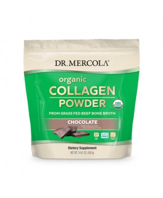 Organic Collagen Powder 304 gram Chocolate - Dr. Mercola