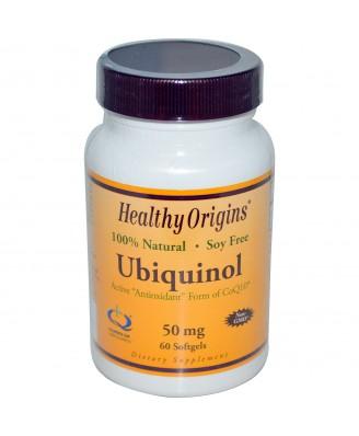 Healthy Origins, Ubiquinol ( Kaneka QH ), 50 mg, 60 Softgels