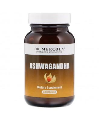 Organic Ashwagandha 800 mg (60 capsules) - Dr. Mercola
