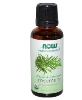 Now Foods, Organic Essential Oils, Rosemary (30 ml)