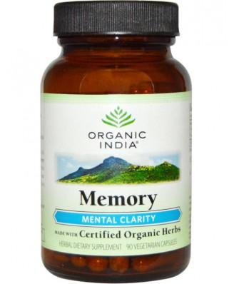 Memory - Mental Clarity (90 Veggie Caps) - Organic India