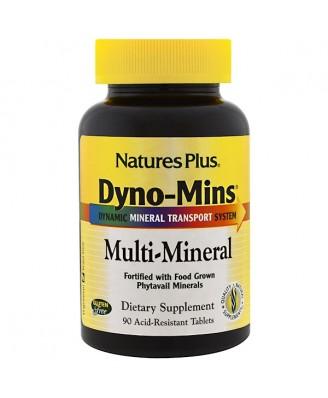 Dyno-Mins Multi-Mineral (90 Tablets) - Nature's Plus