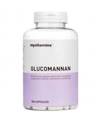 Myvitamins Glucomannan, 180 Capsules (180 Capsules) - Myvitamins