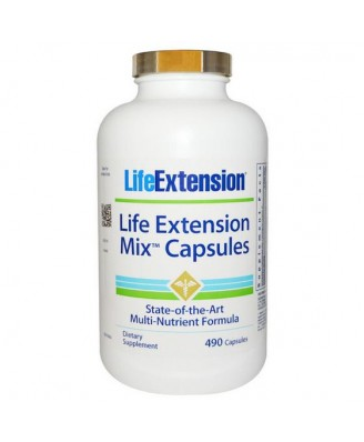 Life Extension, Mix capsula, capsula 490