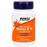 Methyl B-12 Extra Strength 10.000 mcg (60 lozenges) - Now Foods