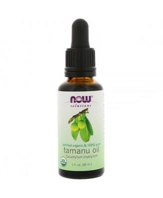 Certified Organic & 100% Pure- Tamanu Oil (30 ml) - Now Foods