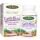 ORAC-Energy Earth's Blend One Daily Superfood Multivitamin With Iron (60 Veggie Caps) - Paradise Herbs