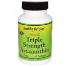 Natuurlijke Drie Dubbele Dosering Astaxanthine 12 mg (60 Softgels) - Healthy Origins