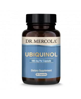 Dr. Mercola, Ubiquinol, Enhanced Bioactivity CoQ10, 100 mg, 30 Licaps Capsules