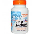 Doctor's Best, Best Lutein Featuring Lutemax 20 mg, 180 Softgels