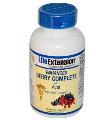 Enhanced Berry Complete with Açaí (60 Veggie Caps) - Life Extension