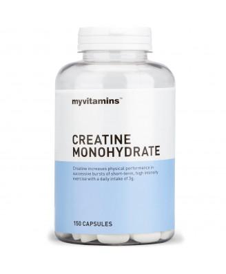 Myvitamins Creatine Monohydrate, 150 Capsules (150 Capsules) - Myvitamins
