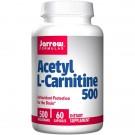 Acetyl L-Carnitine 500 mg (60 Vegetarian Capsules) - Jarrow Formulas